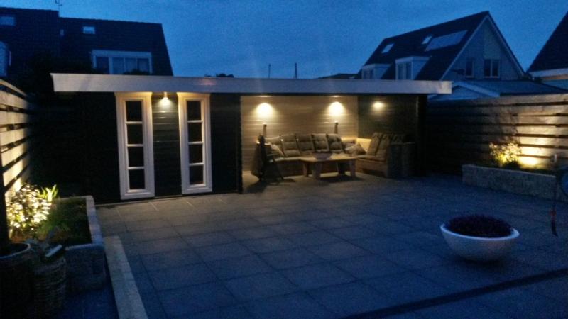 TuinTotaalCenter Zwolle - Tuinhuisverlichting set 4Q | Blokhutten ...
