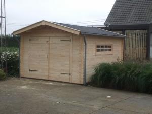 Houten Garage Kopen : Tuintotaalcenter zwolle houten garage blokhutten scherp en