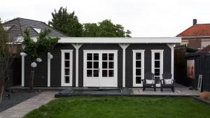 Verrassend Tuinhuis met plat dak | Blokhutten, scherp en sterk in maatwerk AA-93
